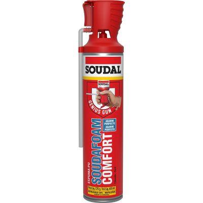 Espuma poliuretano 600 ml
