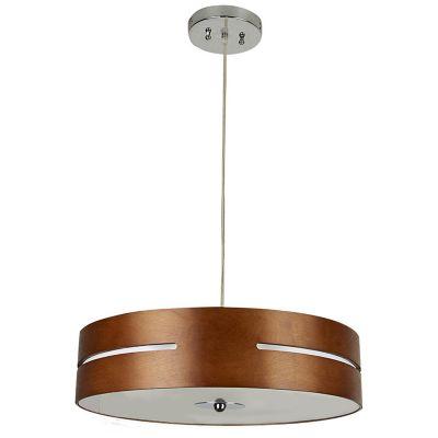 Lámpara colgante Losanna madera S/L 100-240V E27