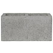Block hueco liso 15 x 20 x 40 cm