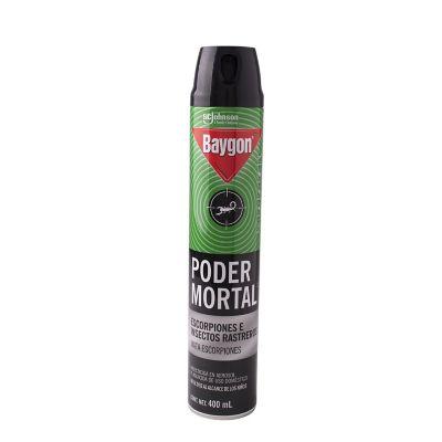 Insecticida poder mortal aerosol 400 ml