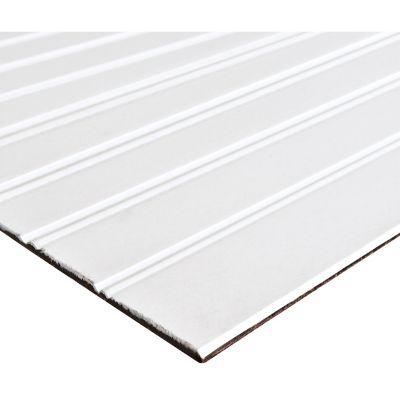 Tablero decorativo rayas blanco 3 mm