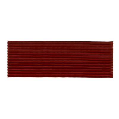 Lámina corrugada de policarbonato espumado Suntop rojo 0.92 x 3.05 cm