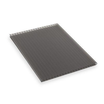 Lámina de policarbonato Alveolar Sunlite humo 6 mm 1.22 x 6.10 cm