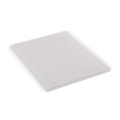 Lámina de policarbonato Alveolar Sunlite cristal 6 mm 1.22 x 3.05 cm