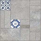 Piso cerámico Mallorca bleu 55.5x55.5 cm
