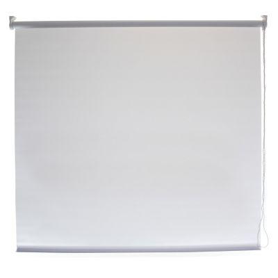 Persiana enrollable traslúcida blanca 150x180 cm
