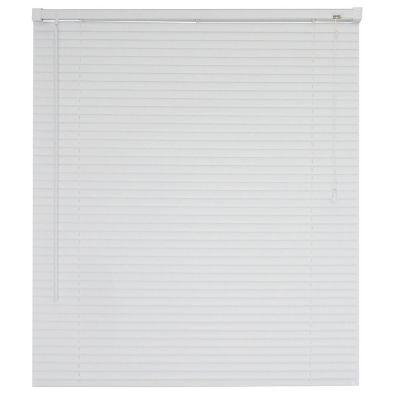 Persiana horizontal de PVC blanca 80x120 cm