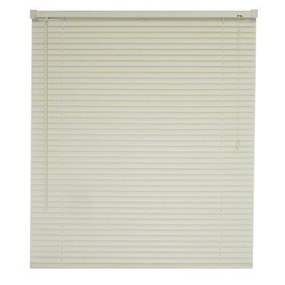 Persiana horizontal de PVC marfil 150x160 cm