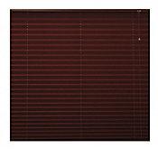 Persiana plisada tela chocolate 150x160 cm