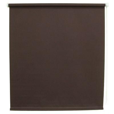 Persiana enrollable translúcida chocolate 100x160 cm