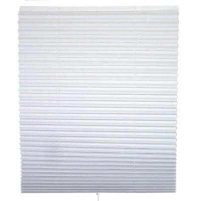 Persiana temporal de vinil trasparente blanco 120x180 cm