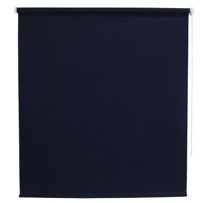 Persiana enrollable translúcida azul 150x180 cm