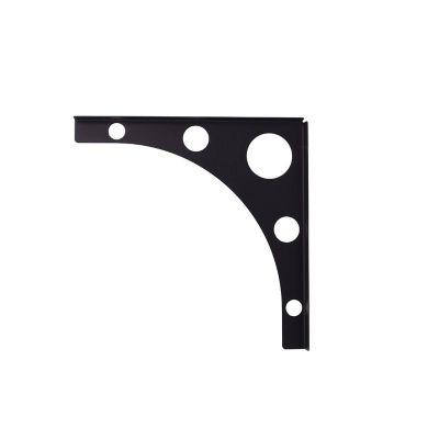 Soporte Mondrian negro 25 cm