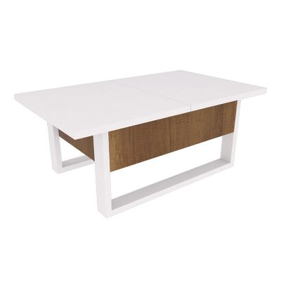 Mesa multifuncional plegable con compartimiento interno