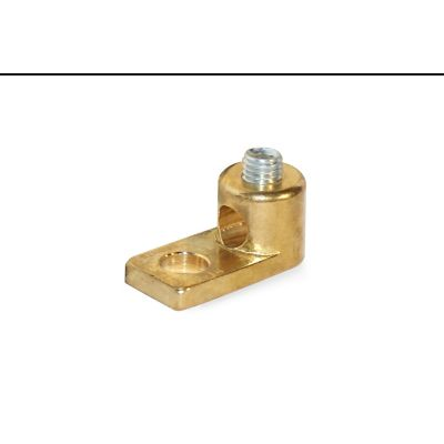 Terminal bronce p/conductores 4-14 AWG/kcmil
