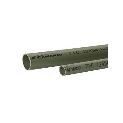"""Tubo pesado PVC 11/4"""" x  3m uso de canalización de cables"""