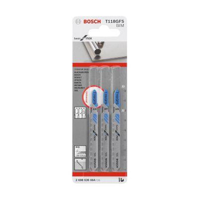 Segueta T118GFS basic for inox marca BOSCH