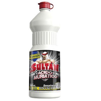 Ácido muriático 900 ml