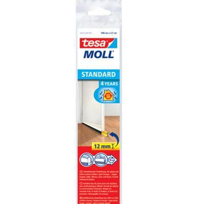 Perfil rígido p/puertas 1 m x 37 mm blanco