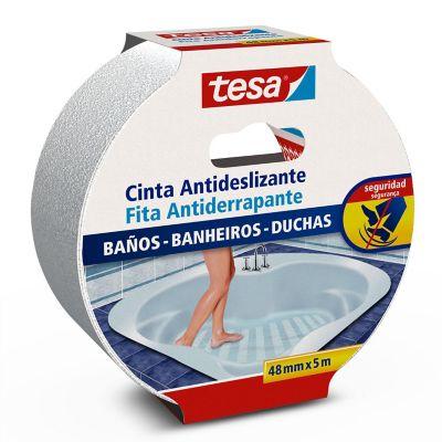 Cinta antideslizante p/baños y tinas 48 mm x 5 m