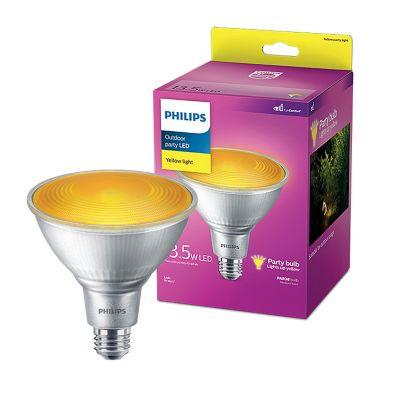 Foco led Par38 13.5W amarilla 100W E27