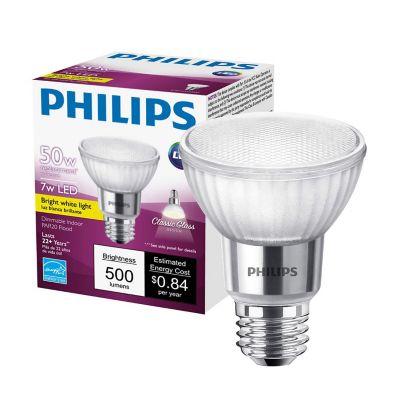 Foco spot led 7W/50W par20 luz fria