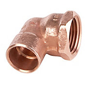Codo rosca interior 2 cobre