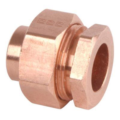 Tuerac unión 1 1/2 cobre