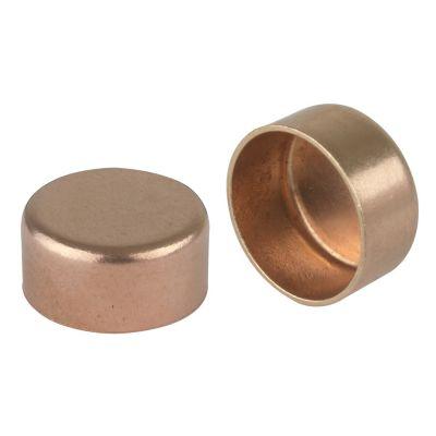 Tapon hembra 3/8 cobre