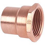Conector rosca interior 1 1/2 cobre