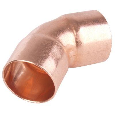 Codo 45° 1 1/2 cobre