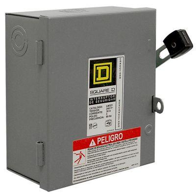 Interruptor de seguridad 3 polos 30 A ligero