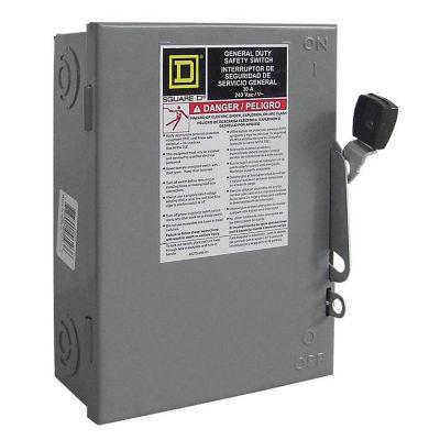 Interruptor de seguridad 3 polos 30 A general