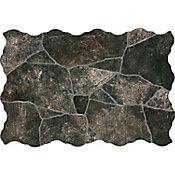 Piso cerámico Apine negro 34x50 cm