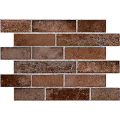 Piso cerámico Stonebridge marrón 34x50 cm