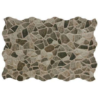 Piso cerámico Mocuba gris 34x50 cm