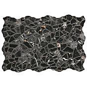 Piso cerámico Mocuba negro 34x50 cm