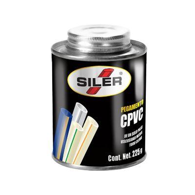 Bote 225 g pegamento para tubería de CPVC bote negro
