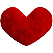 Cojín decorativo Corazón rojo