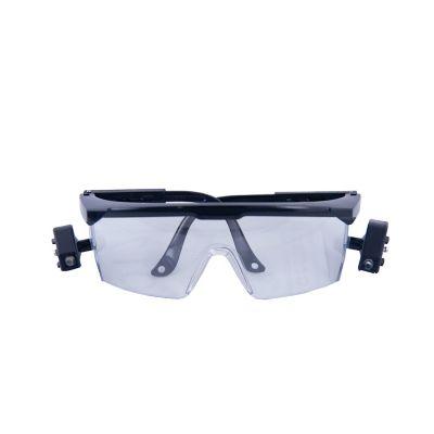 Lentes seguridad antirayadura/empañante protección UV con luz led