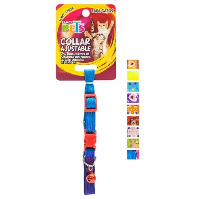 Collar c/cascabel  nylon