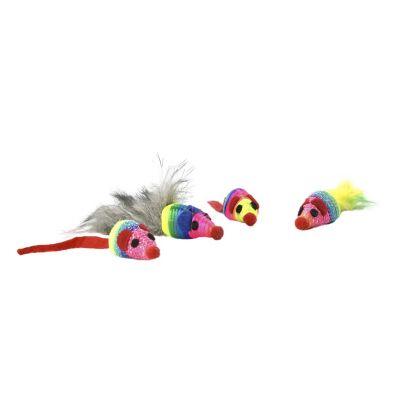 Juguete para gato 4 piezas ratones