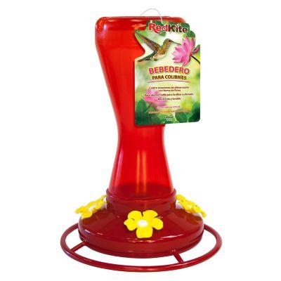 Alimentador colibríes rojo 970 ml