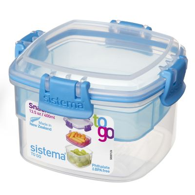 Contenedor 400 ml plástico