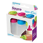 Set de botellas para salsa 3 piezas 35 ml