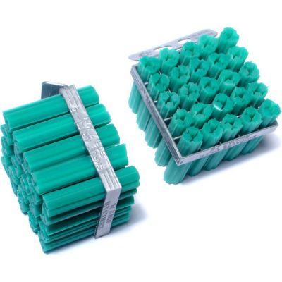 """Anclajes tornillos expandidos de vinilo 1/4"""" x 1-1/4"""" 100 pz"""