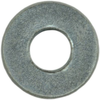 Arandelas planas SAE de zinc #6 350 pz