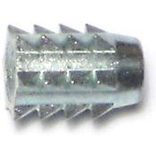 Inserto para madera p/llave zinc 10-32 2 pzas