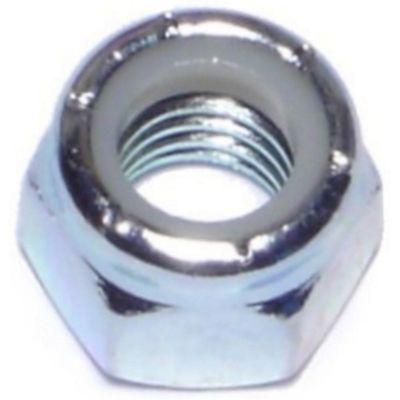 Tuercas gruesas inserción nylon y zinc 3/8-16 100 pzs.