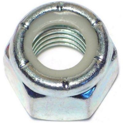 Tuercas gruesas inserción nylon y zinc 1/2-13 2 pzs.